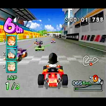 SIMPLE Wiiシリーズ Vol.1 THE みんなでカート・レース