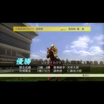 ジーワンジョッキー Wii 2008