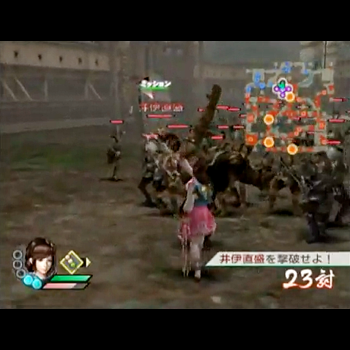 戦国無双3(with Wii)