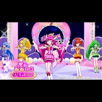 プリキュアオールスターズ ぜんいんしゅうごう☆レッツダンス!